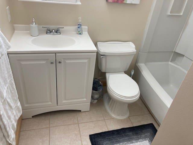 Back room bath