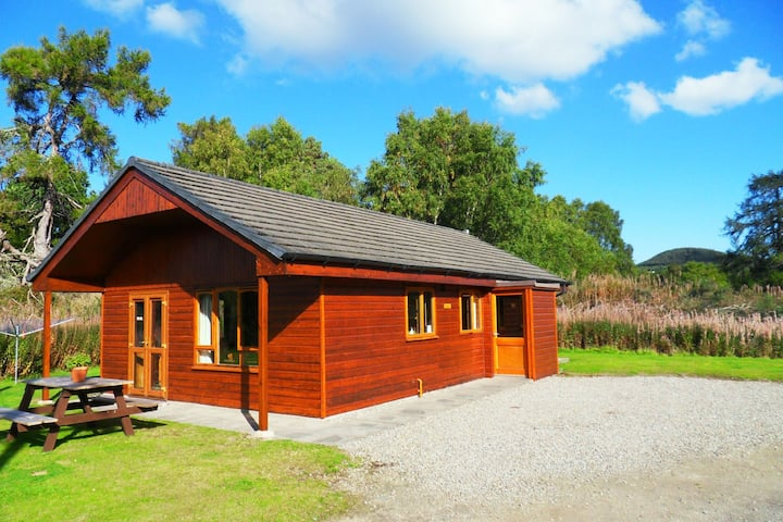 Divach lodge at Lochletter