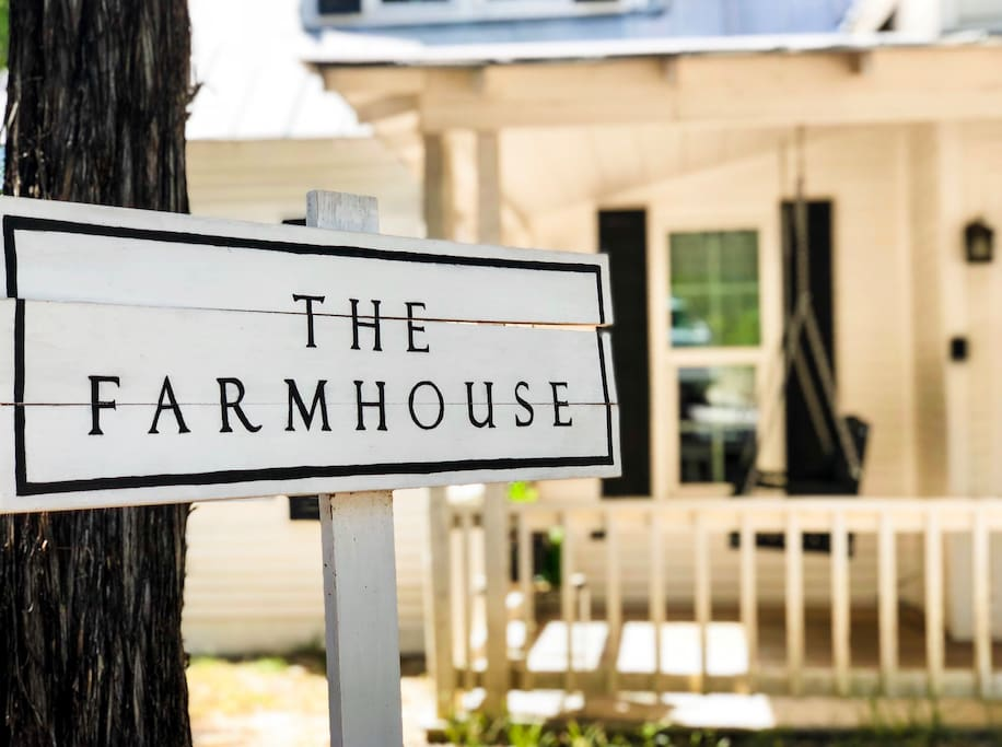 Welcome to our Farmhouse!