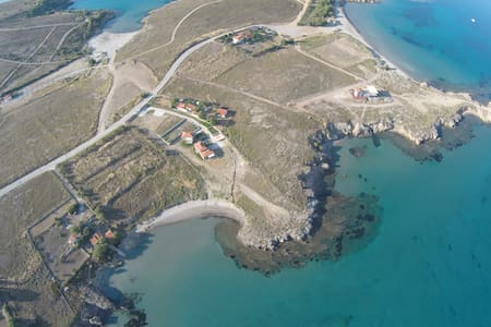 Fanaraki Limnos Twin Studio on Private Beach - Lemnos