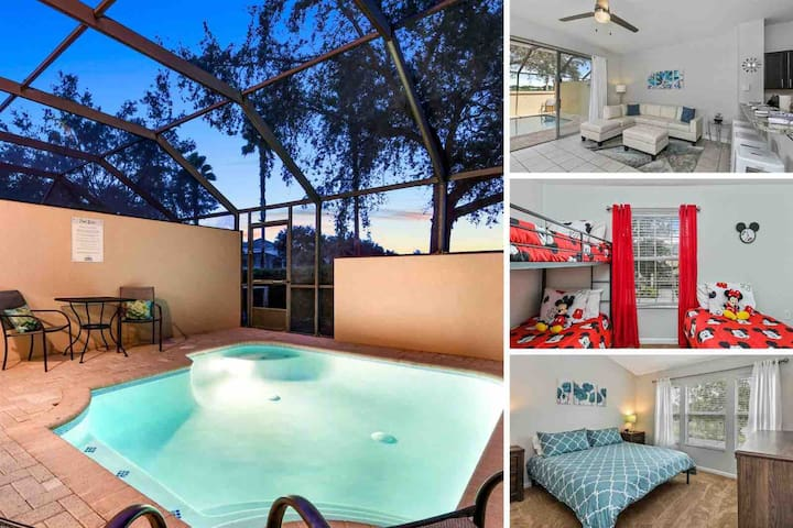 Contemporary Magical Villa - 5 Minutes from Disney