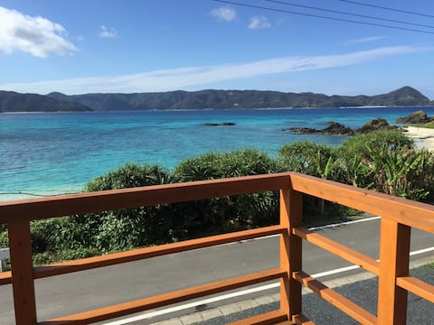 Amami Beach House☆ビーチまで5秒☆空港から車で20分☆3ヶ月先まで受付中