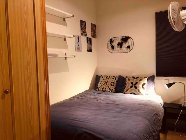 Cómoda y acogedora habitación Madrid Centro Wifi