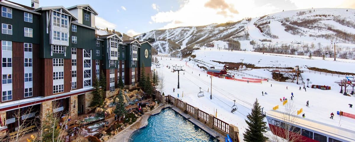 Sundance 2 BR Luxury Villa Marriott Mountainside