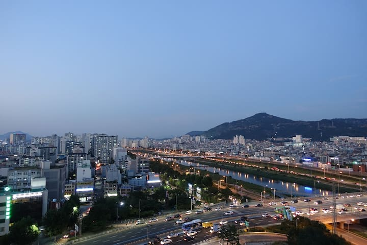 Brand New building with perfect view - Seongdong-gu - Apartament