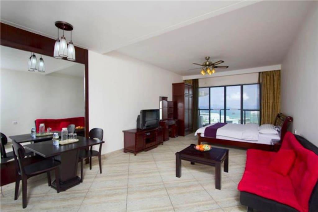 一室一厅海景大床