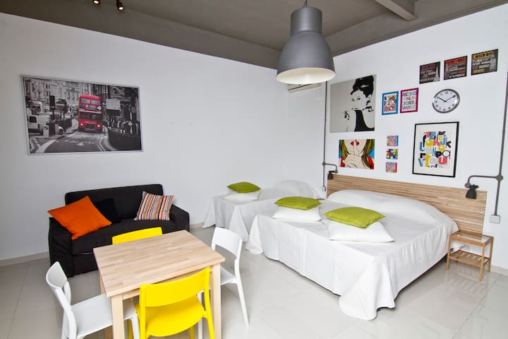 Standard studio self catering apt 5 guests - 6 - Saint Julian's