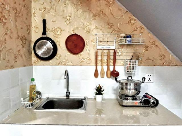 Double Room / Kitchen