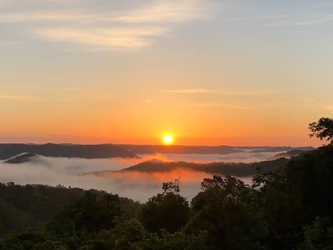Amazing mountaintop sunrises
