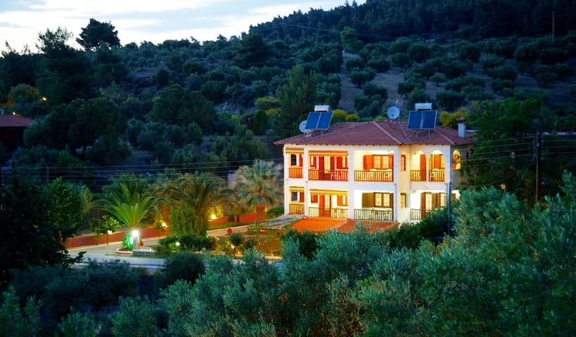 Panoramic view of our Villa