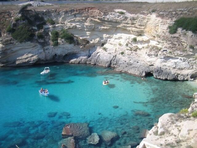 Cala di Porto Miggiano Litoranea Leuca-Otranto