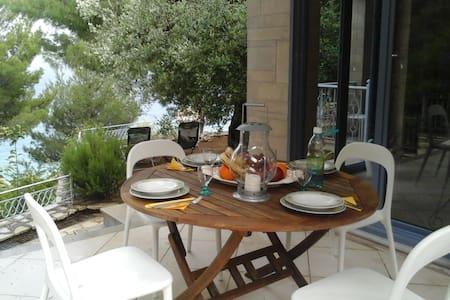 Linovrohia villa and guest house in Ionian islands - Kalamos - Talo