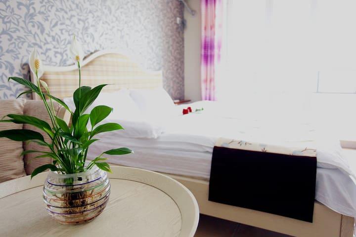 东戴河山海同湾大床房海景公寓拎包即来 - Huludao - Apartamento