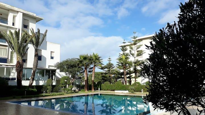 Essaouira Beach Apartment Pool 1