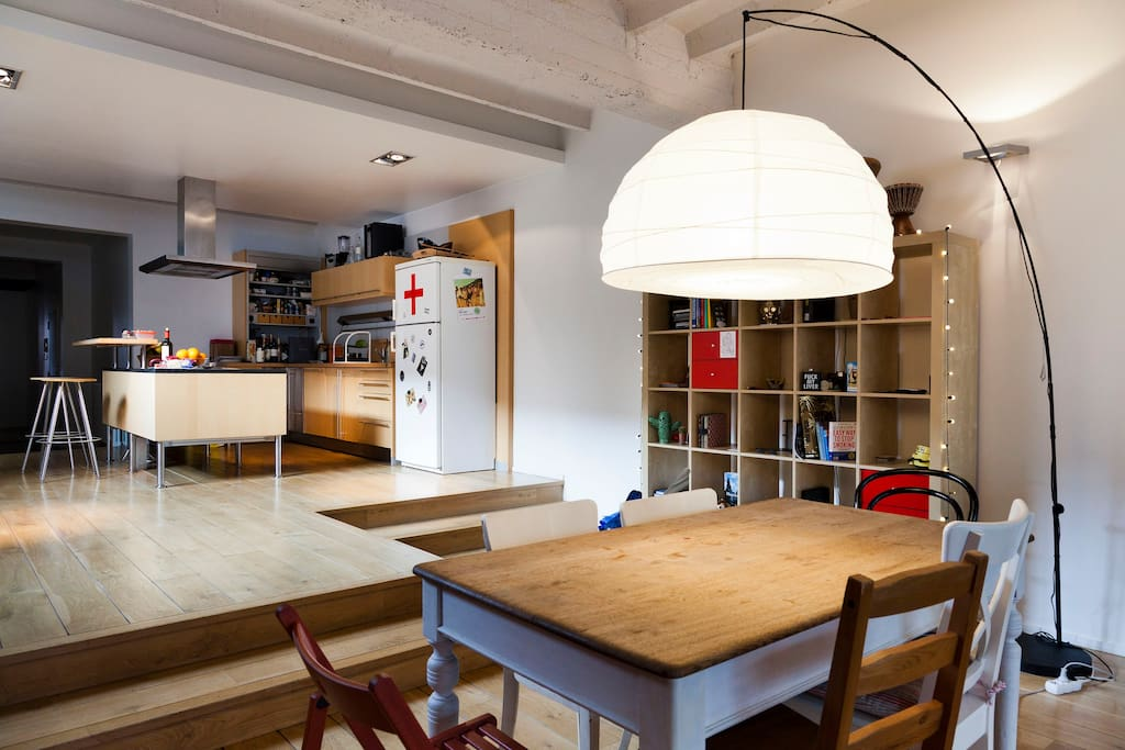 Cheap room in amazing loft lofts louer bruxelles bruxelles belgique - Location loft bruxelles ...