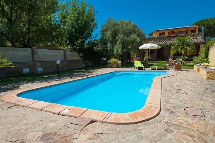 TOP VILLA-Wi-Fi  60mt Beach& PrivatePool-CA/Villas