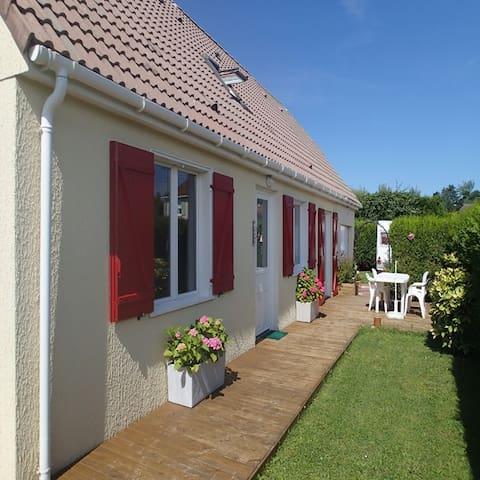 maison proche mer et campagne - Merville-Franceville-Plage - Huis