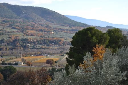 Appartement situé au milieu des oliviers à Nyons