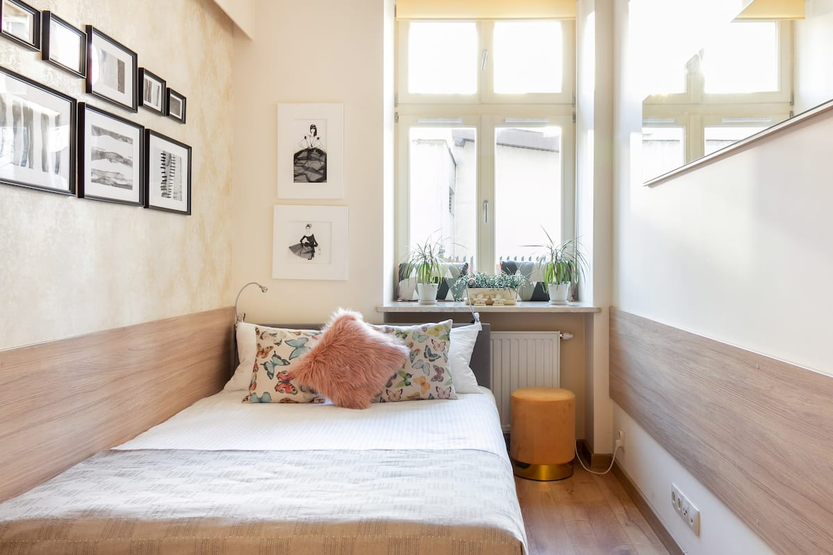 Explore the Old Town of Krakow from an Elegant Apartment
