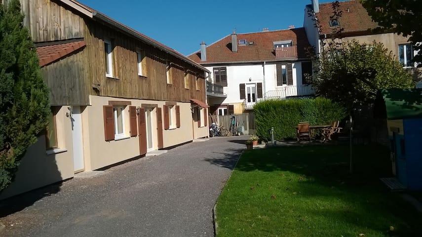 Maison 110 m2 au calme, en centre ville - Saint-Dié-des-Vosges - Casa