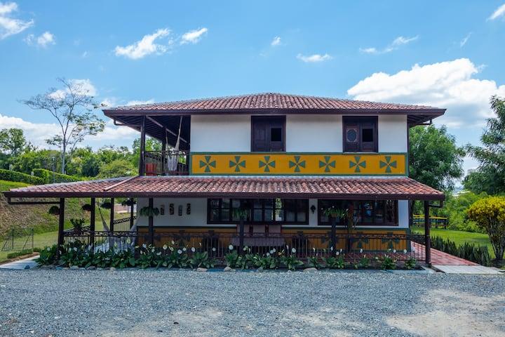 Casa Campestre Heliconia-Rancho la Soledad