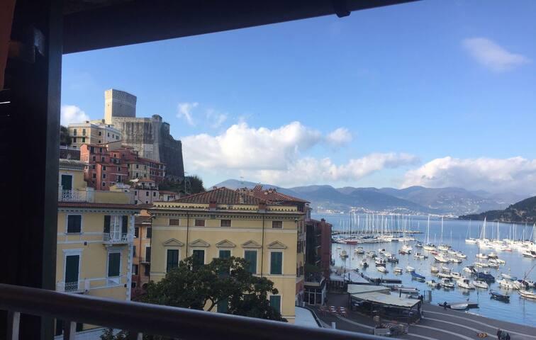 5 Terre - Lerici    -The window on the sea- - Lerici - Appartamento
