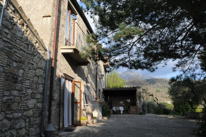 House of the Wind, in the heart of the Madonie