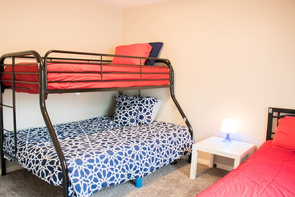 Bed 6 - Top Bunk