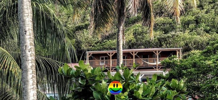Maison rêve d'Antilles
