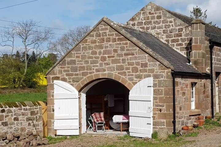 The Bothy. Cosy, eco friendly barn camping.