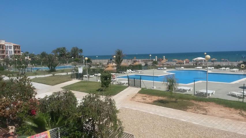 apartamento naturista vistas al mar - Vera