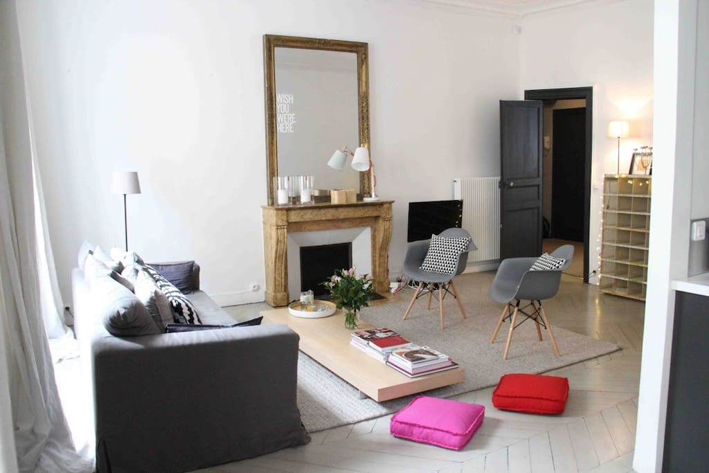Living Room, nice light
