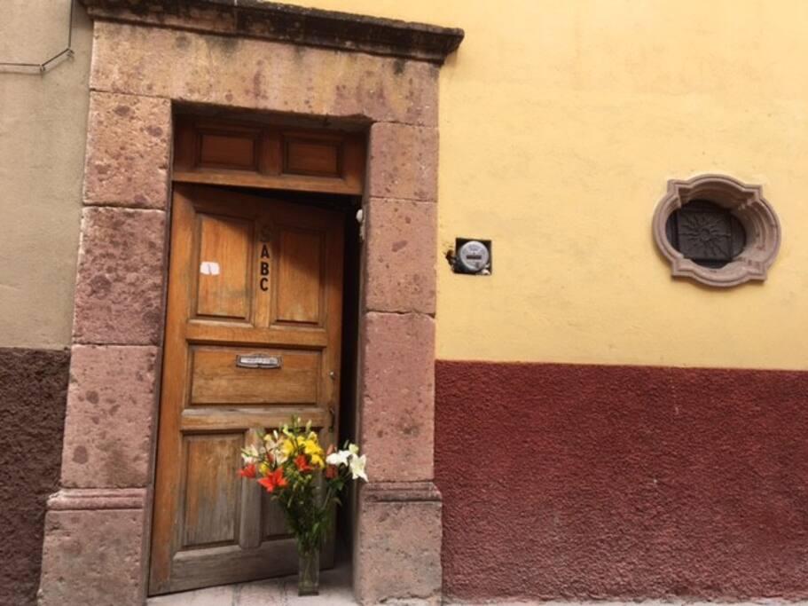 Fachada entrada principal