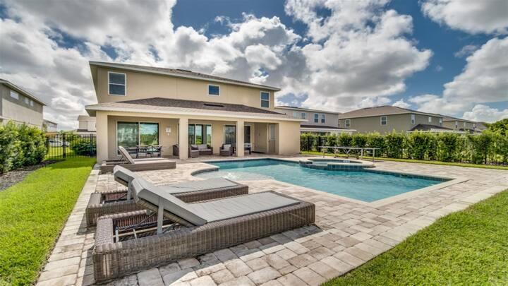 The Encore Club Resort- Luxurious Villa w/Pool+Spa