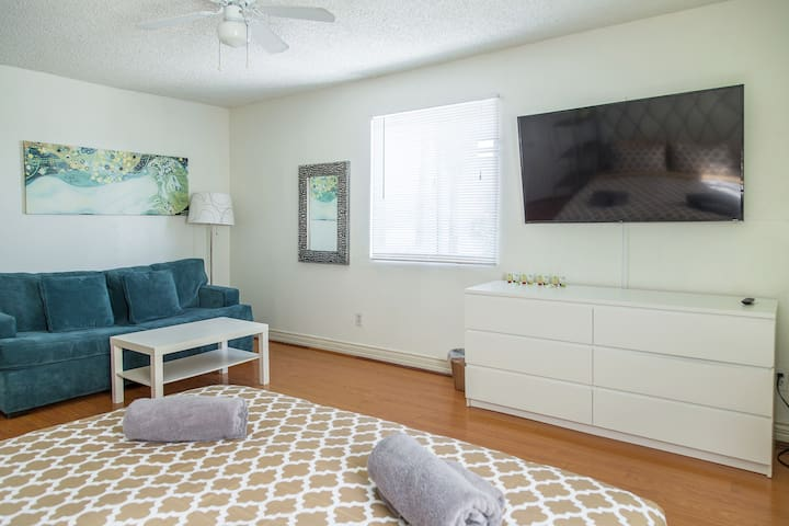 Spacious room in LA with a King Bed KoreaTown