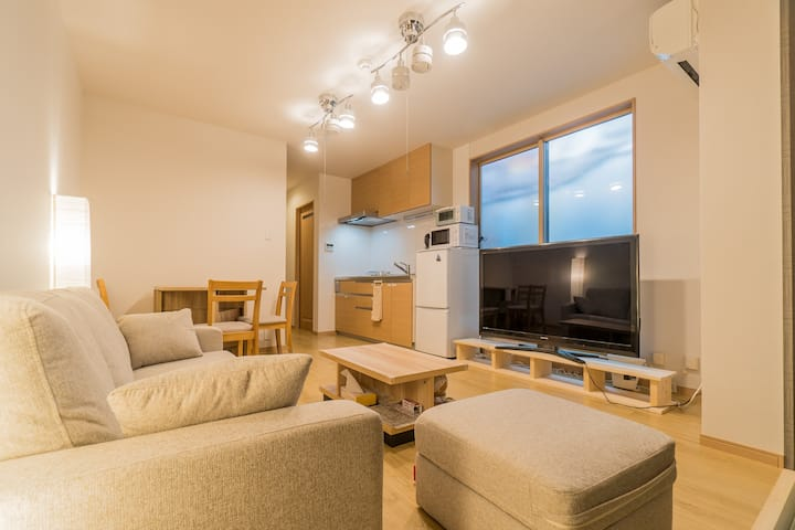 Best location! Japanestay Apartment Hotel Room 2