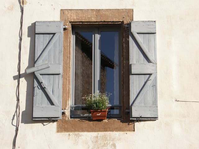 A charming cottage at the foot of Cordes sur ciel - Les Cabannes - Casa