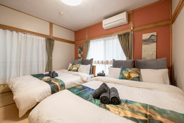 Asakusa/4min Bus Stop/Cozy room/PocketWiFi#minowa