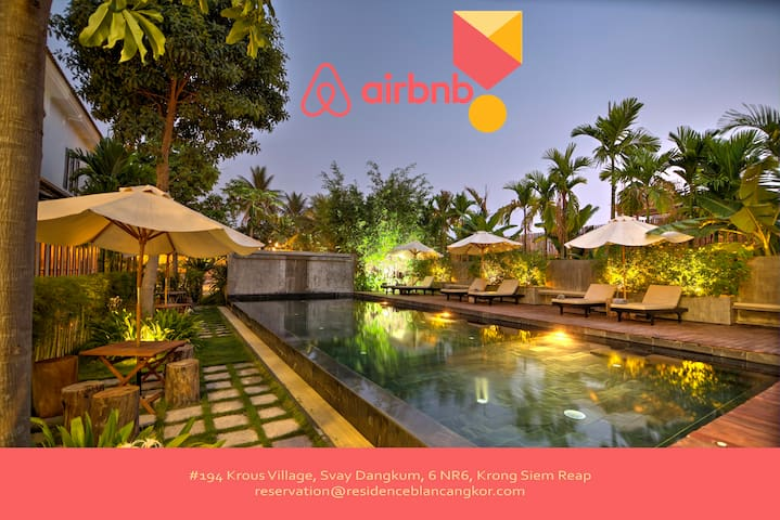 Welcome To La Residence Blanc D'Angkor - Krong Siem Reap - Hotel boutique