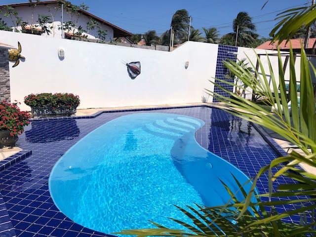 Canoa Guest House, linda casa em Canoa Quebrada