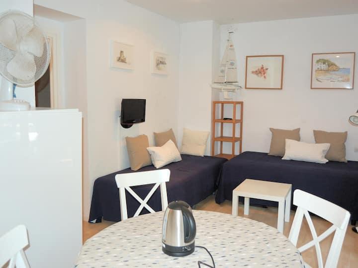 Agréable appartement à centre du Tamariu