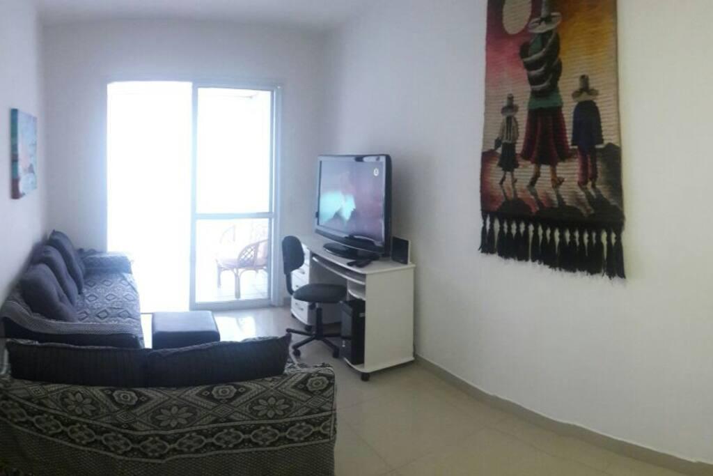 sala estar com tv