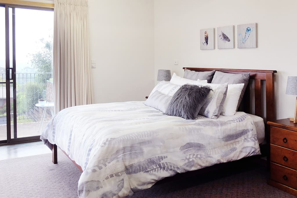 Stylish Queen Bed