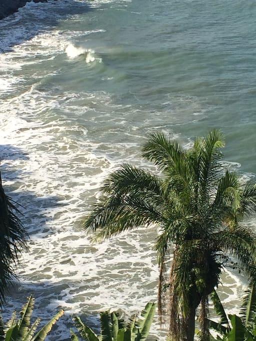 Visão do mar