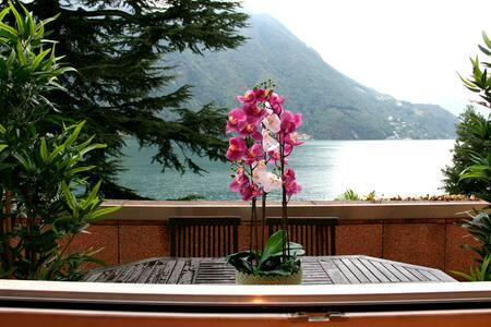 Apartment Orchidea - Ruhelage direkt am See Lugano - Lugano - Apartment