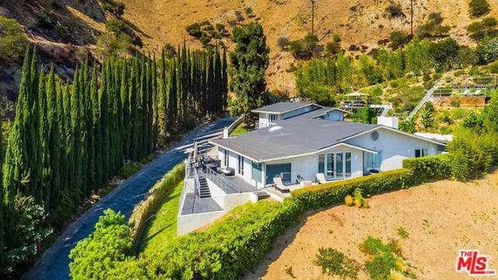 Celebrity Hide-Out in LA's desirable Bird Streets