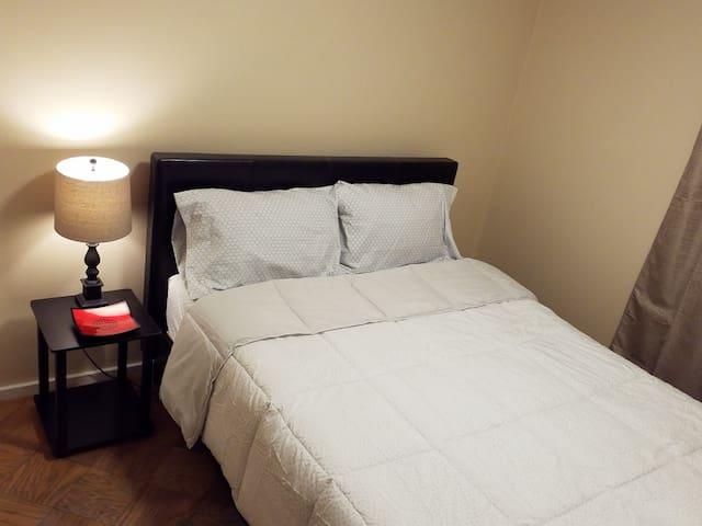 Bedroom 3: Luxury Queen Memory Foam Mattress with New Furniture