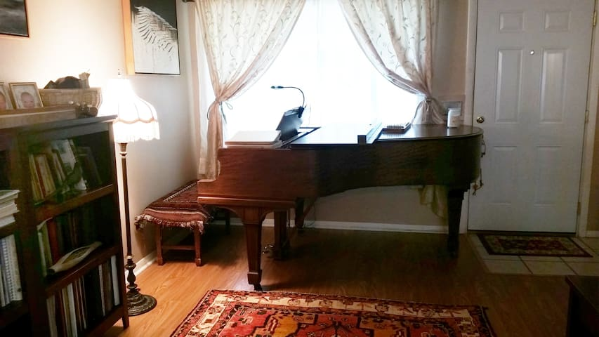 Chez Carolyn with Music and Art: Private Room