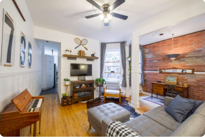 WELCOMING APT (LE NUMBERS) - PLATEAU MONT-ROYAL
