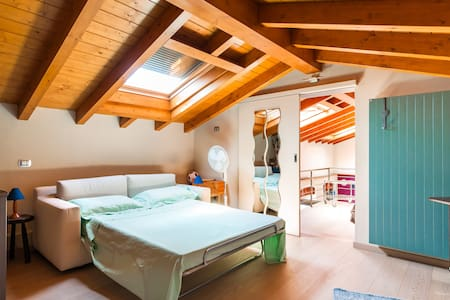 Cosy room in the attic